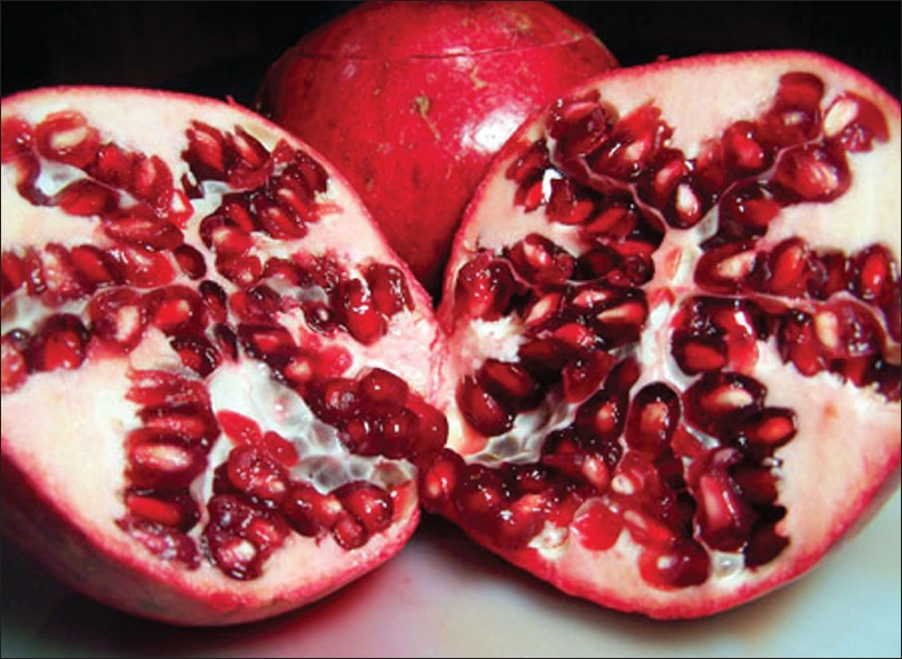 Figure 2: Pomegranate fruit
